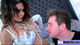 (Jessica Jaymes) Naughty Horny Slut Housewife Love Intercorse On Cam clip-16