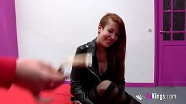 Horny teen spends all of her casting teasing us