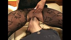 Pantyhose face sitting and...