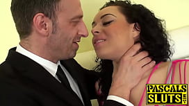 Horny Anastasia Lux getting...