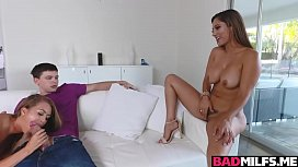 Gorgeous gf Jill threesome...