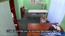 Blonde patient gets fucked...