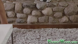Yummy stepsister takes care of bros giant morning wood