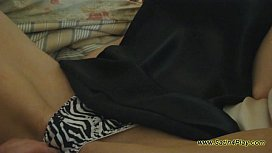 Black Chemise with Leopard Panties
