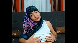Maleena a muslim Hijabite shows off her Nice tits and Big fat ass for her followers on a Fuck site to celebrate her Birthday  - More on 366Sex.com