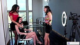 Workplace rules... not approved - April O'_Neil, Jade Baker and Victoria Voxxx