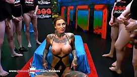 Calisi Ink Busty Tattooed Cum Lover - German Goo Girls 얼굴, hardcore, interracial, milf, blowjob, 문신, busty, 피어싱, cumshots, gangbang, bukkake, 독일어, 큰 가슴, deutsch, ggg, german-goo-girls, calisi-ink
