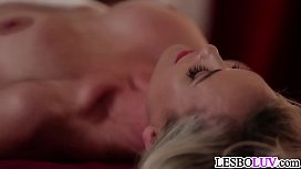 Masseuse Kenna James makes...