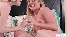 The Squirting Contest - AJ Applegate and Cadence Lux