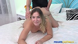 Private Casting X - Chubby cutie Blair Williams fake casting fuck