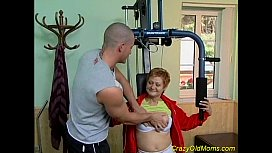Crazy old mom gets hard fucked image
