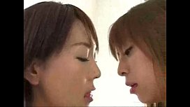 Asian Girls Wet Kissing...