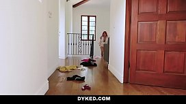 Dyked - Hot Milf Seduces and Fucks Straight Teen Daughter