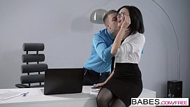 Babes - Office Obsession - (Nikolas) and (Sheri Vi) - Overtime