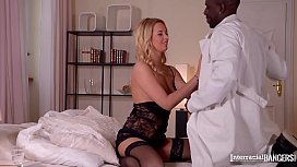 Doc Fucks Blonde Patient Nikky Dream Balls Deep With His Huge Black Dick