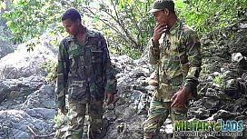 Army boys scout for...