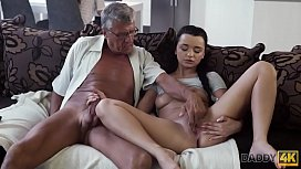 DADDY4K. Erica will never forget hot sex with dad of her boyfriend