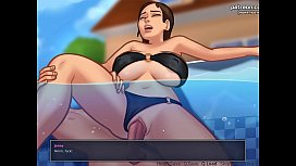 Hot stepsister fucked underwater and successfully impregnated l My sexiest gameplay moments l Summertime Saga[v0.18.5] l Part #25