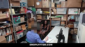 Shoplyfter - Hot Ebony Cutie...