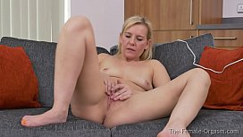 MILF Strips and Masturbates...