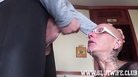 Submissive Bald Headed Slave...