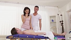 Chick With Two Bisexual Guys
