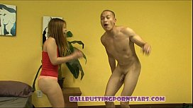Ballbusting and Fucking with...