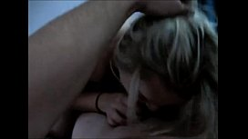 Chubby amateur blonde fucked...