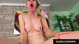 Granny Jamie Foster and Her Royal British Pussy Are Treated to a Fat Cock