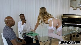 BLACKED Blonde Personal Assistant...