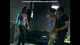 lewd students fuck in the ass at a party preview