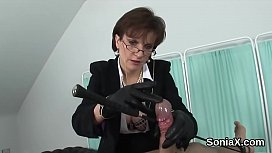 Cheating english milf lady sonia presents her big tits
