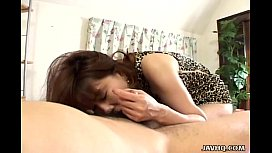 Asian bitch has a fat dick to please and suck