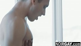 Married neighbours having interracial gay sex when wives are away