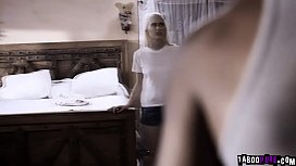 Blind teenager Chloe Cherry got moved to their new house and saw by her perverted neighbor Ricky Johnson.He took advantage and devirginized her pussy.