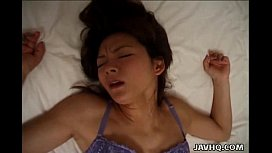 Asian bitch gets her...