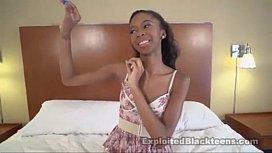 Young Black Teen Anal...