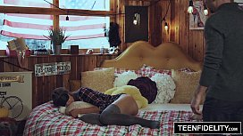 TEENFIDELITY - Creampie Surprise From...