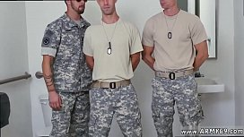 Gay soldier muscle lick...
