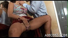 Sex addicted mommy in...