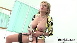 Cheating british mature gill ellis reveals her giant tits