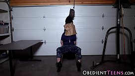 Obedient teen gets nailed