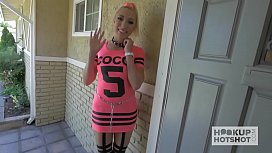 Blonde Bimbo Gets Roughed...