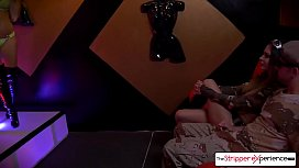 The Stripper Experience - Jessica and Nina sucking and fucking a huge cock
