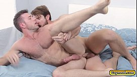 Colby knows how to fuck Alex in his anal