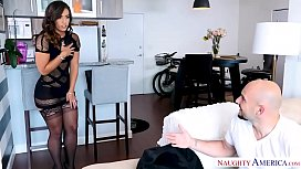 Kelsi Monroe's big ass bounces from a big dick fuck - Naughty America