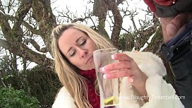 Piss drinking, girl swallowing...