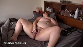 Pleasant Danger home alone exploring her beautiful cunt and tits again
