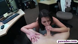 Customers wife gives head...