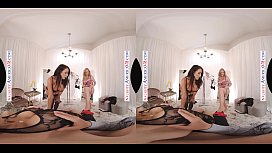Naughty America - Casca Akashova, Devon &amp_ Reagan Foxx fuck in the famous Dressing Room